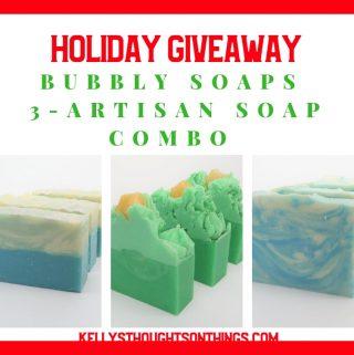 Holiday Giveaway: Handmade Artisan Soap