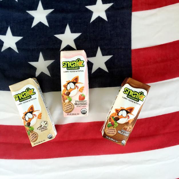 Sneakz Organic Veggie Milk Shakes and Sneakz Organic Kids Nutrition Shake
