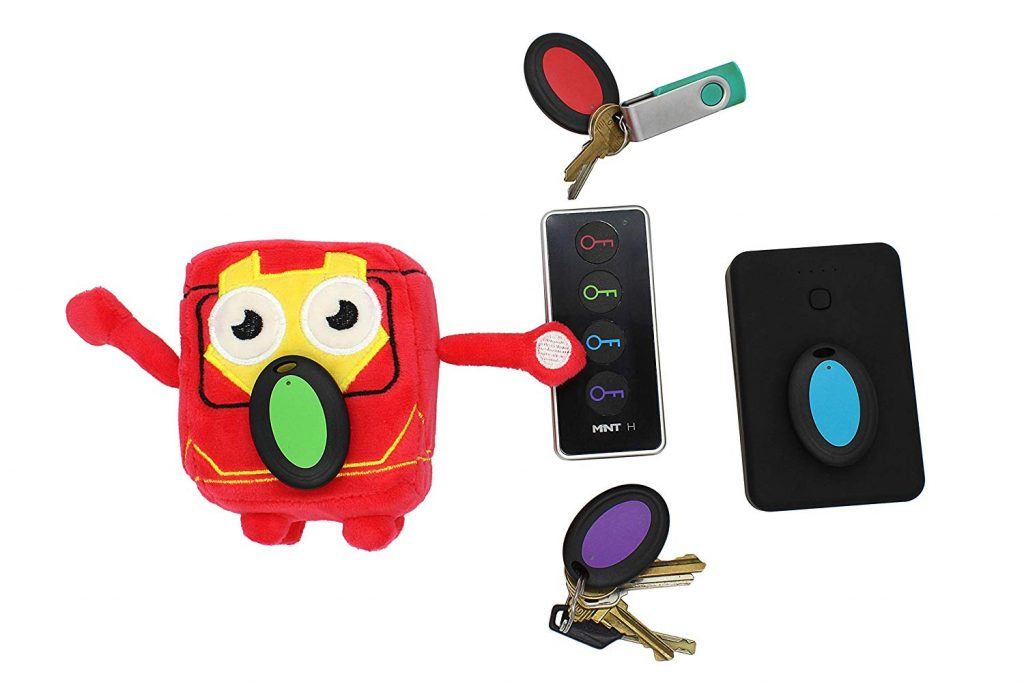 Mint H Wireless Item Beeper - Track Your Keys, Wallets, or TV Remote (4 trackers)
