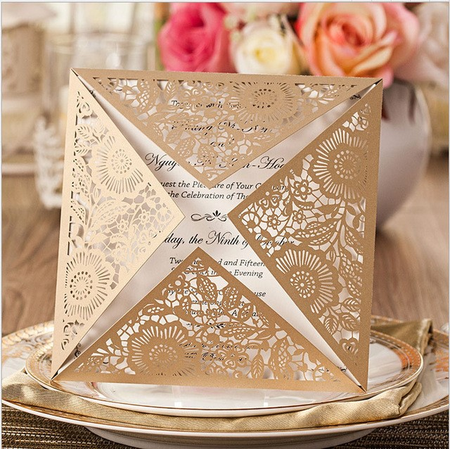 Pick Up the Right Invitation for Your Wedding - Importance of Cards