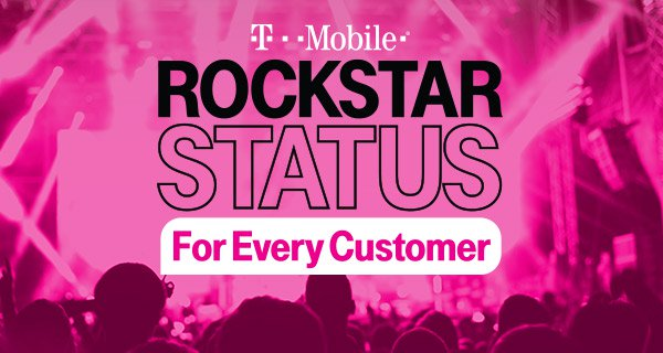 Tmobile Rockstar status for every customer