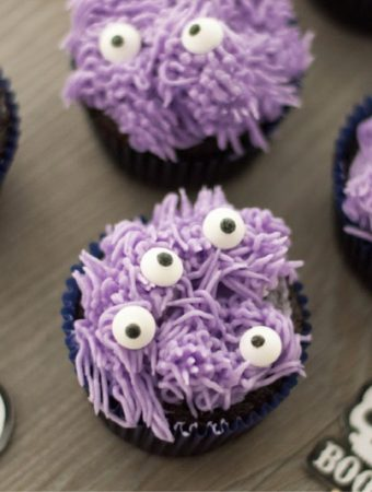 Purple Monster Cupcakes Recipe