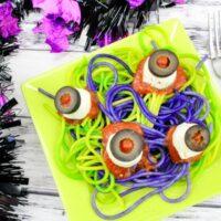 Spaghetti & Eyeballs Recipe