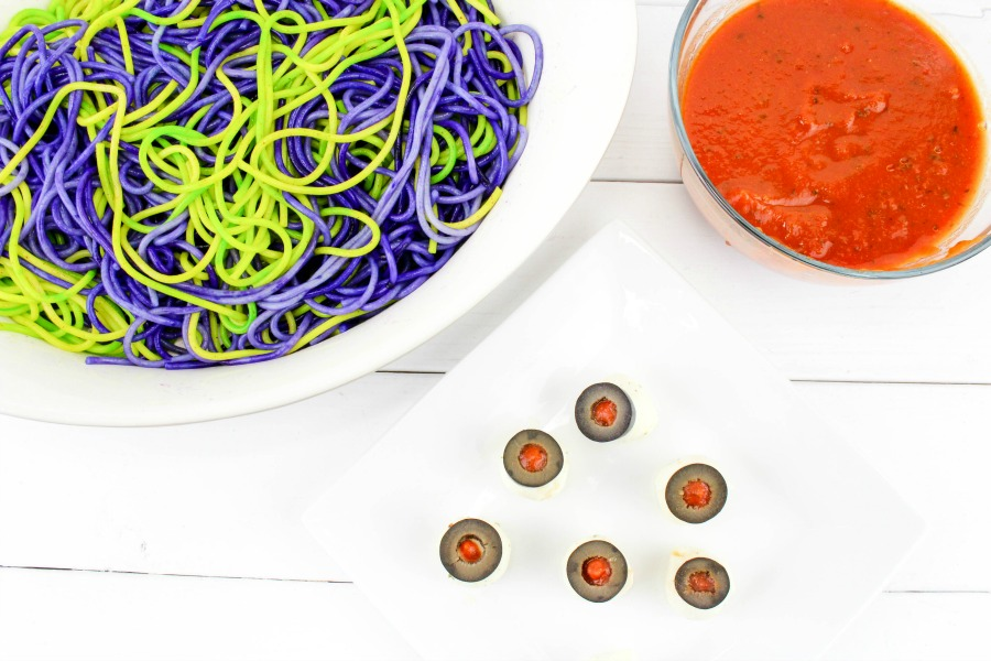 Spaghetti & Eyeballs Recipe