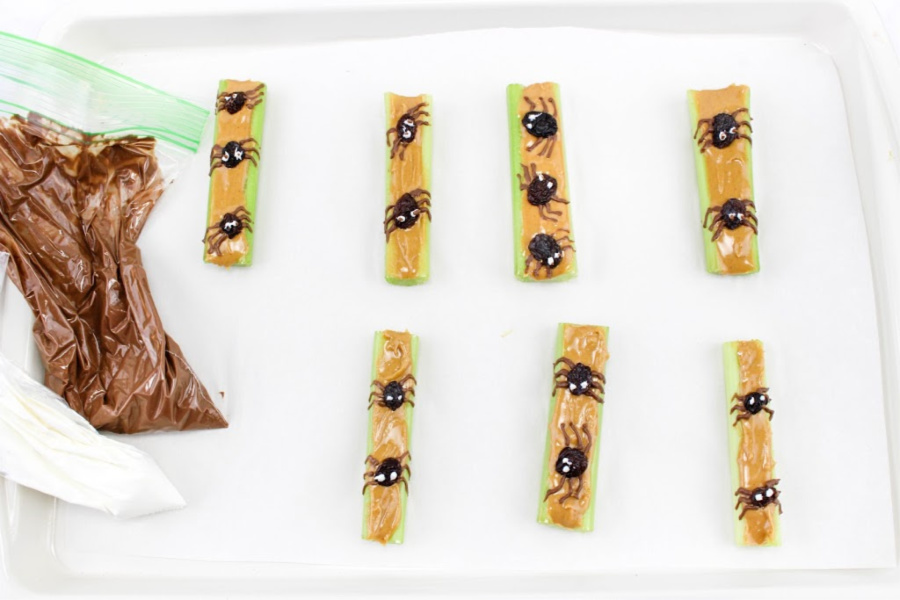 Spider Celery Recipe
