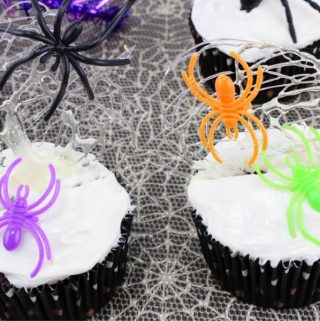 Spun Spiderweb Cupcakes Recipe