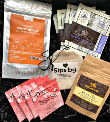 The Perfect Gift for the Tea Lover - Sips By Subscription Box 1