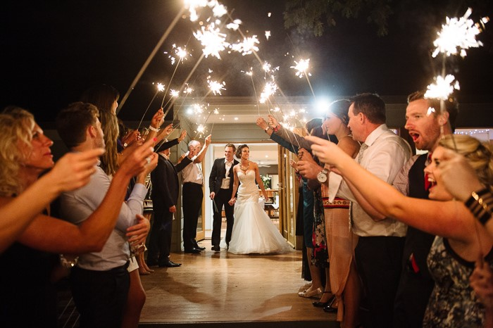 Use Sparklers for Wedding Portraits - Ignite Your Wedding Night