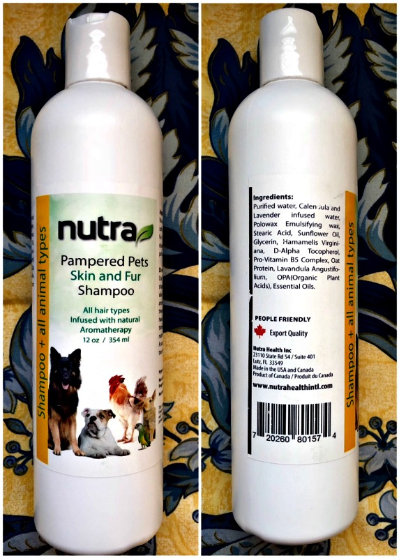 Vegan, All-Natural Health and Beauty Pet Products from Nutra 2