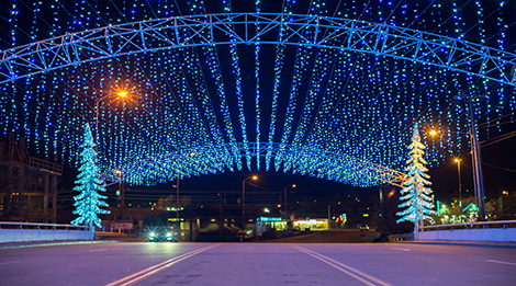Pigeon Forge Winterfest Features Five Million Lights, Family-Friendly Attractions