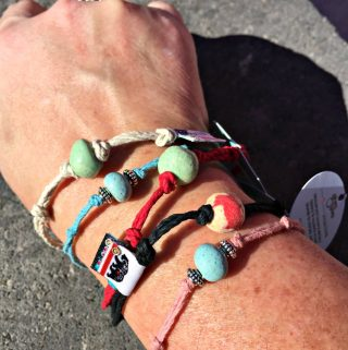 Earth Bands - Beautiful Bracelets and Anklets Made From Our Earth