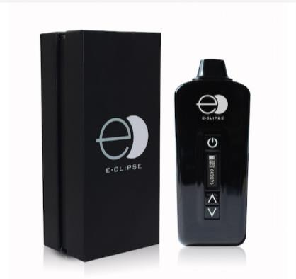E-CLIPSE DRY HERB VAPORIZER box black and white