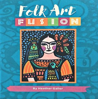 """""""Folk Art Fusion"""" – A Fun, Christmas Gift For The Artsy Ones In Your Life"""