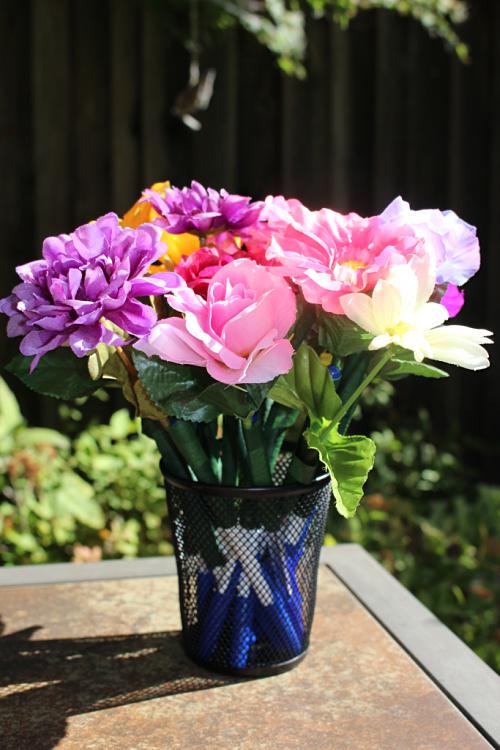 De-stink-tive Fragrance Flower Pens.