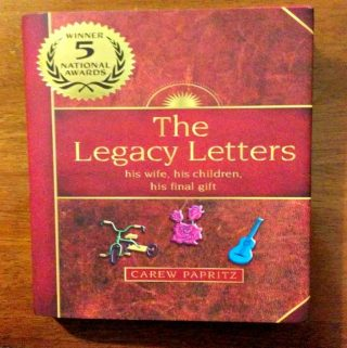 "A Christmas Gift That Will Touch The Hearts Of Many: ""The Legacy Letters"""