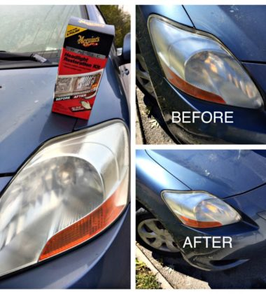 Fix Your Yellow, Gross Headlights!