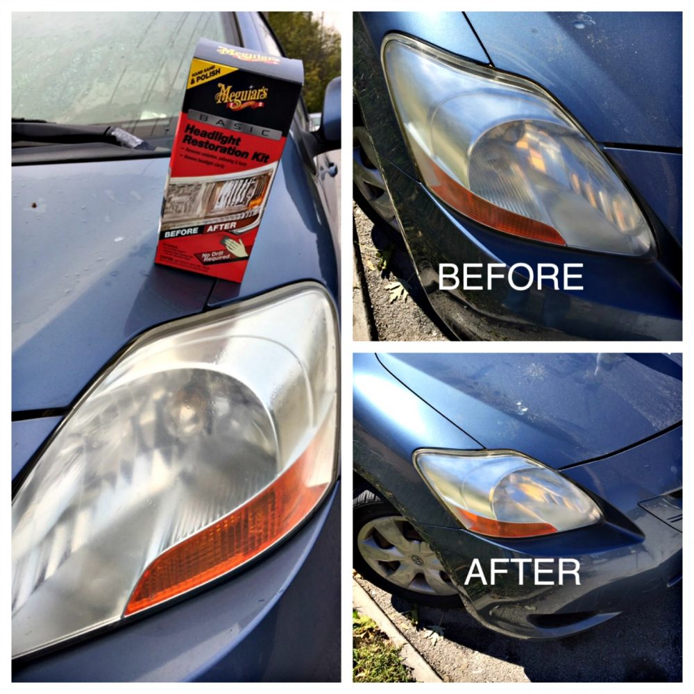 Fix Your Yellow, Gross Headlights!