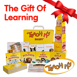 Screen-free, The Teach My Baby Learning Kit is the multi award-winning all-in-one learning toy for babies 6 months+