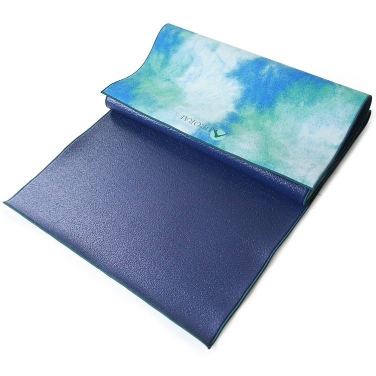Aurorae Yoga Synergy Yoga Mat Towel Combination In: Holiday Gift Guide