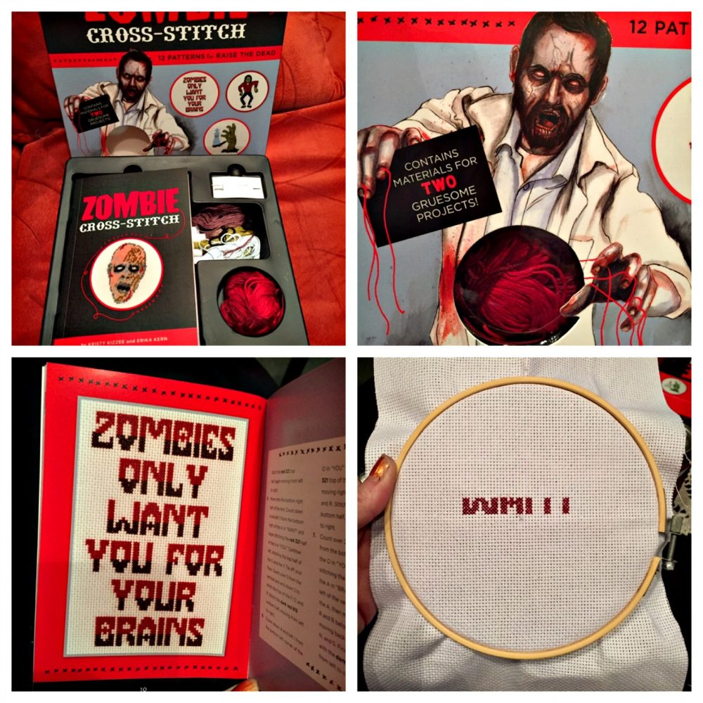 Zombie Cross-Stitch is Perfect for Beginners