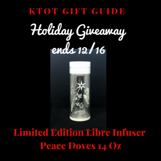 Holiday Giveaway: Libre Infuser - Peace Doves 14 Oz
