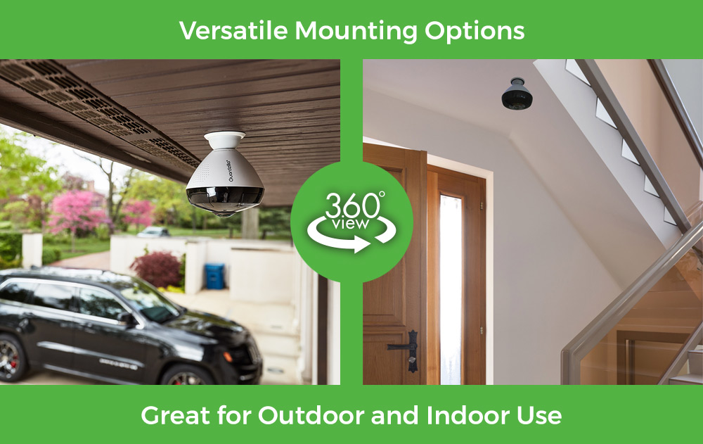 Guardzilla 360 Outdoor/Indoor All-In-One HD Camera