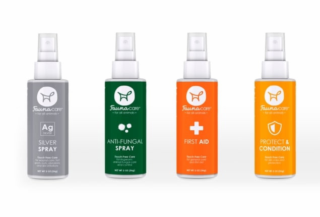 Holiday 4 Pack -1 of each Silver, Antifungal, First Aid and Protect Condition