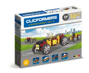 Clicformers Speed Wheel 34Pc Set