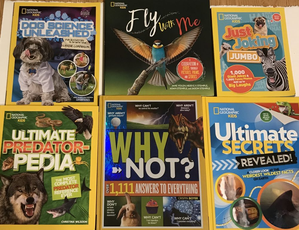 Give The Gift of Knowledge With National Geographic Books