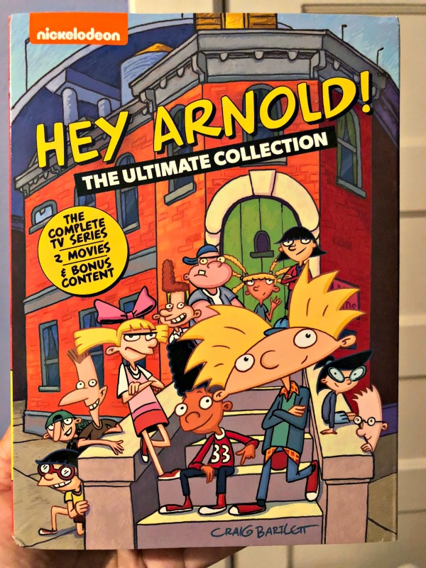Give the Gift of Hey Arnold! The Ultimate Collection Available on DVD November 20th 1