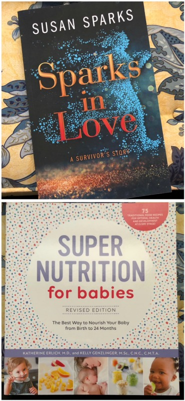 Give the Gift of Reading with these Helpful and Inspirational Books - Super Nutrition for Babies and Sparks in Love 1