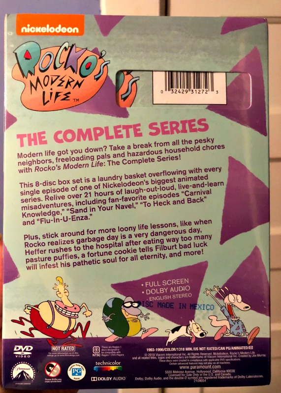 Give The Gift Of Rockos Modern Life The Complete Series Available