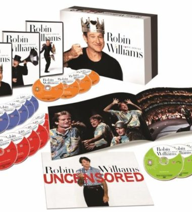 Join TimeLife in Honoring Legendary Comedian and Oscar-Winner with DVD Collection, Robin Williams Comic Genius