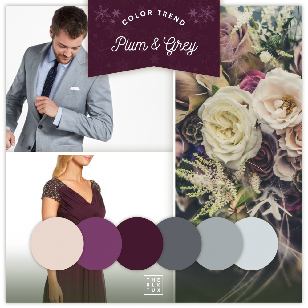 Top 3 Wedding Color Palettes Trending for the 2018 Winter Season