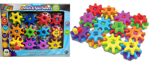 Stack and Spins Gears Super Set