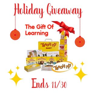 Teach My Learning Kit Giveaway ends 11/30