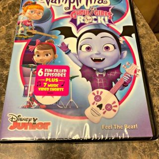 Time To Take The Stage With Vampirina & The Ghoul Girls