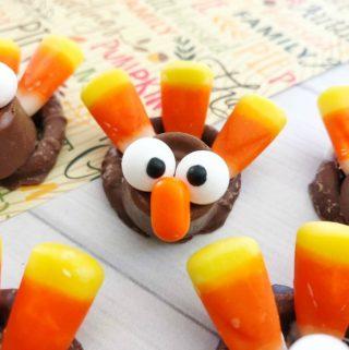 Turkey Pretzel Bites Recipe