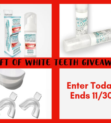 Gift Of White Teeth Holiday Giveaway