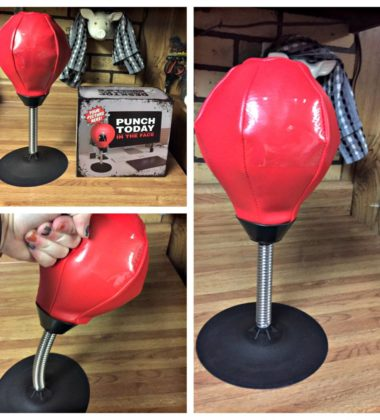 Take Your Stress Out On A Punching Bag