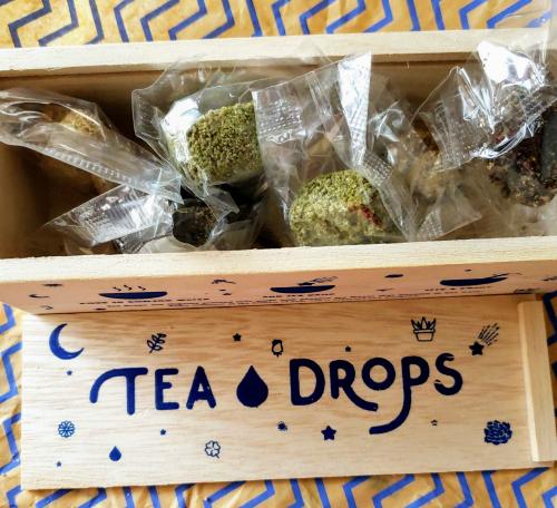 Tea Drops Pressed Spiced Tea Leaves