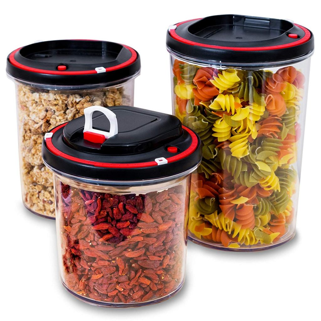Airtight Food Storage Container Set with vacuum pump