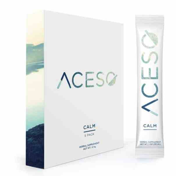 Aceso Calm Pack and packet