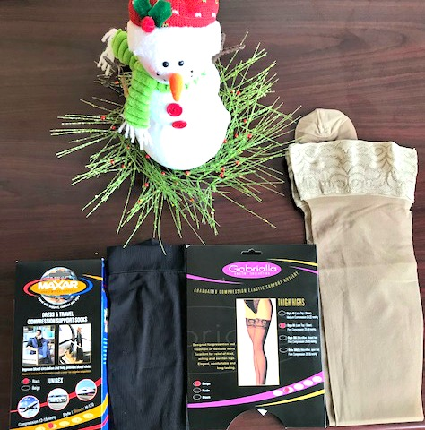 Don't Forget This Must Have Item If You're Travelling For The Holidays: Compression Stockings