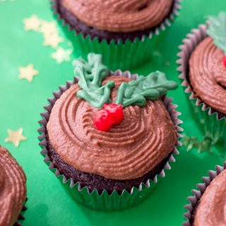 Holly Cupcakes Recipes