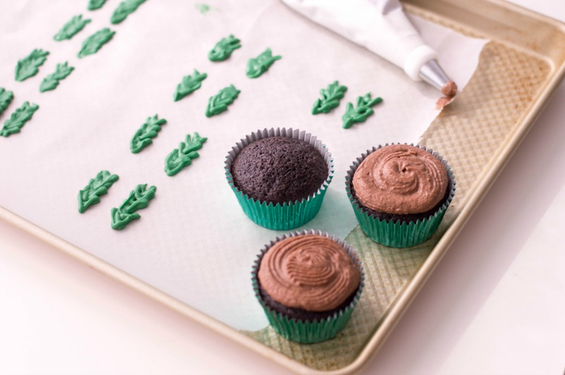 Holly Cupcakes Recipe
