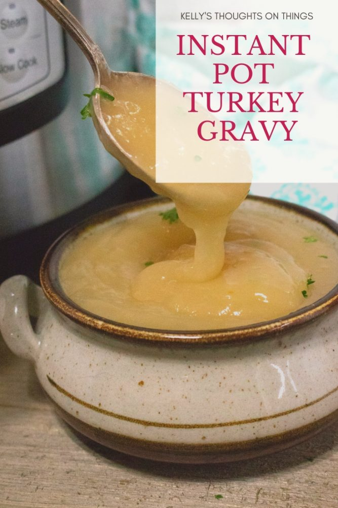 Instant Pot Turkey Gravy Recipe
