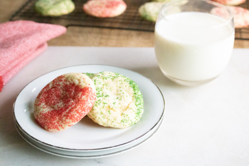 Peppermint Snickerdoodles Recipe