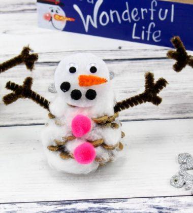 Pinecone Snowmen