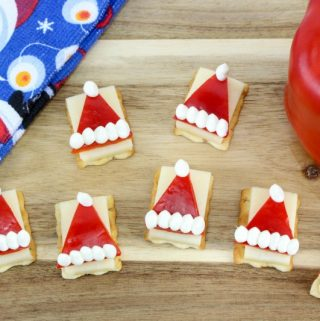 Santa Hat Appetizer Recipe